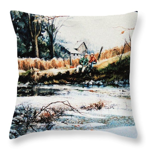 Our Special Place Throw Pillow by Hanne Lore Koehler