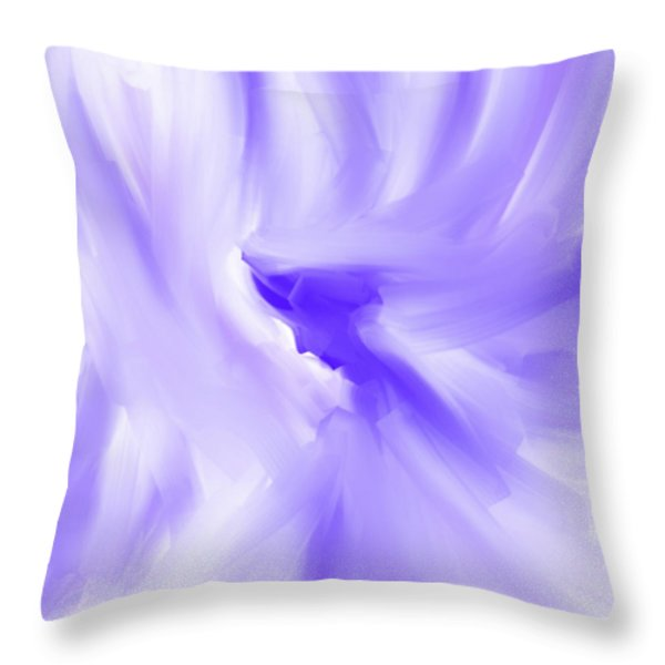 Overshadowing Throw Pillow by Denise Warsalla