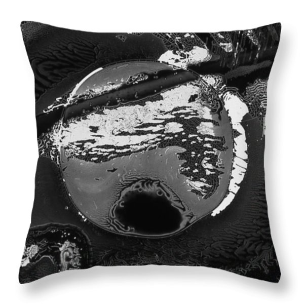 Ovum Throw Pillow by Murray Bloom