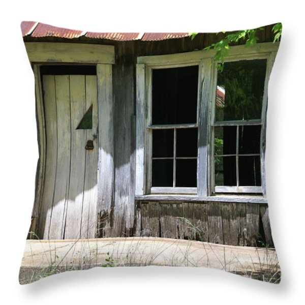 Ozark Homestead Throw Pillow by Marty Koch