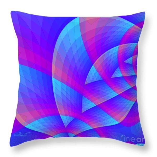 Parabolic Throw Pillow by Jutta Maria Pusl