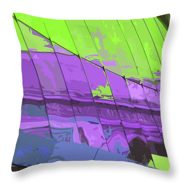 Paris Arc de Triomphe Throw Pillow by Yuriy  Shevchuk