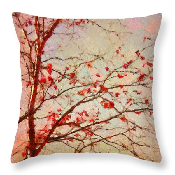 Parsi-Parla - d04c03t01 Throw Pillow by Variance Collections
