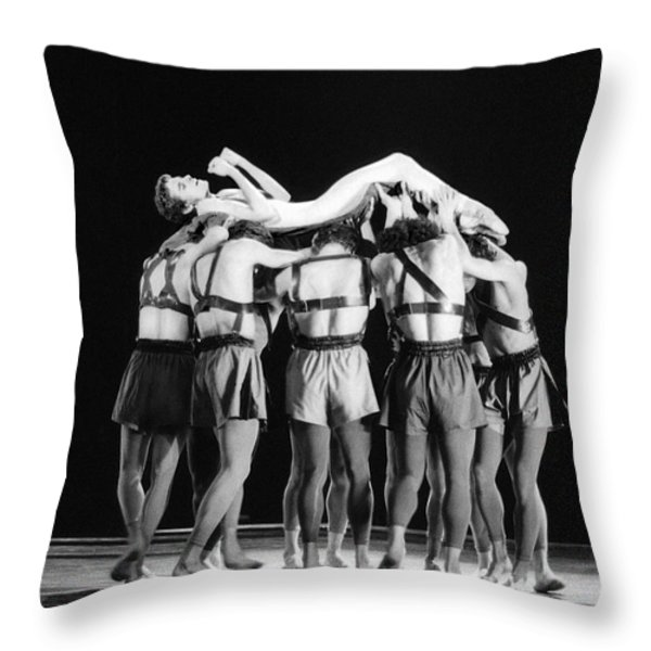 Passion Throw Pillow by Philippe Taka