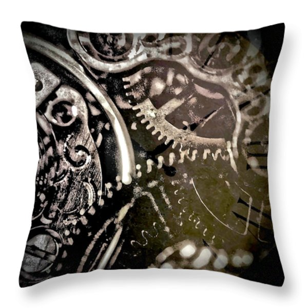 Patience Throw Pillow by Susan Maxwell Schmidt