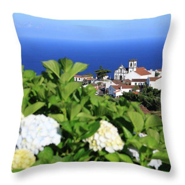 Pedreira do Nordeste Throw Pillow by Gaspar Avila