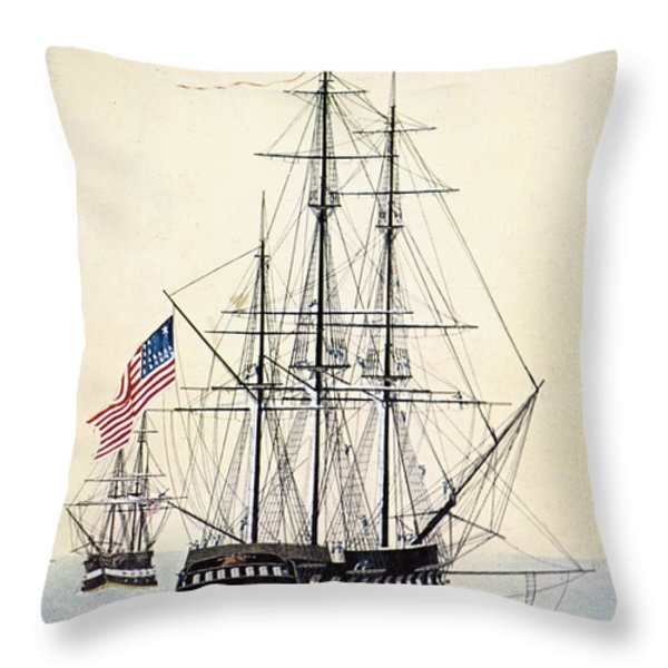Perrys Expedition To Japan Throw Pillow by Granger