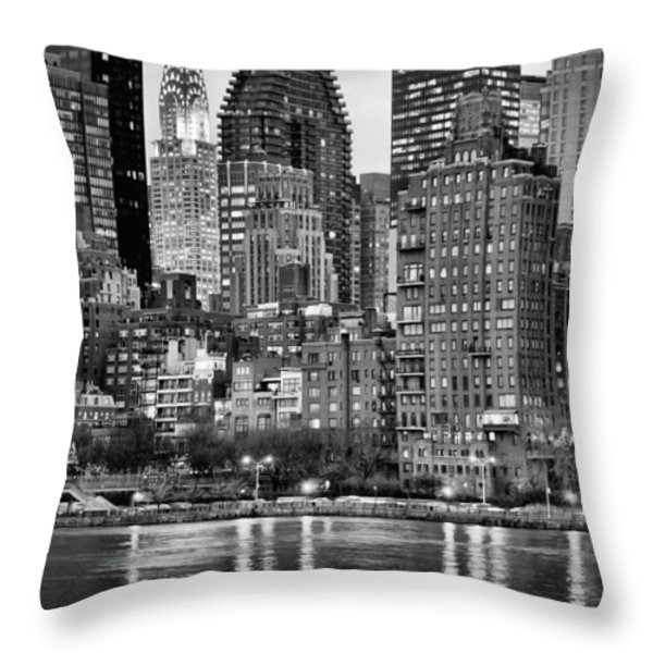 Perspectives V BW Throw Pillow by JC Findley