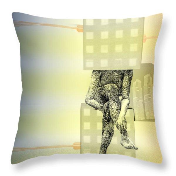 philosophy Throw Pillow by Bob Orsillo
