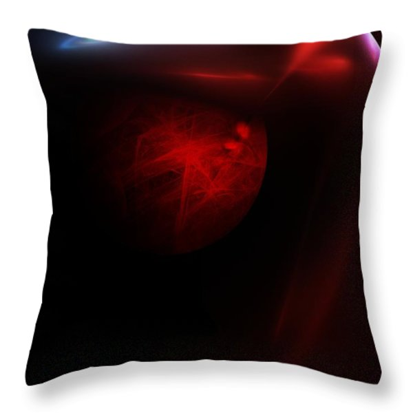 Planet Builder Throw Pillow by David Lane