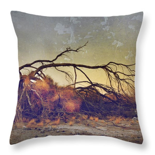 Pleading For Life Throw Pillow by Laurie Search