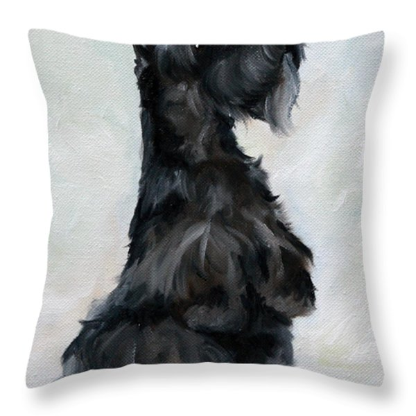 Please Throw Pillow by Mary Sparrow