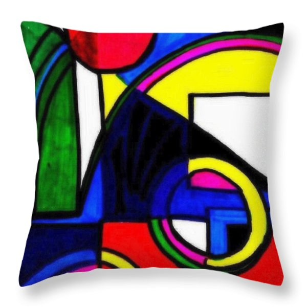 Pool Party Throw Pillow by WBK