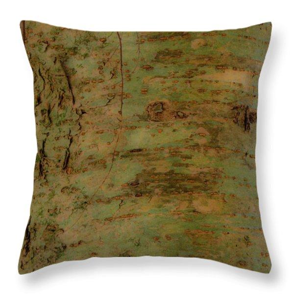 Pores of Life Throw Pillow by Douglas Barnett
