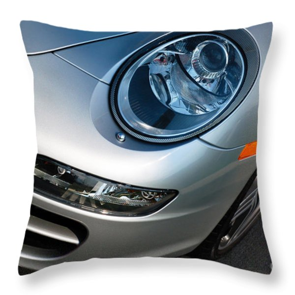 Porsche 911 Throw Pillow by Paul Velgos