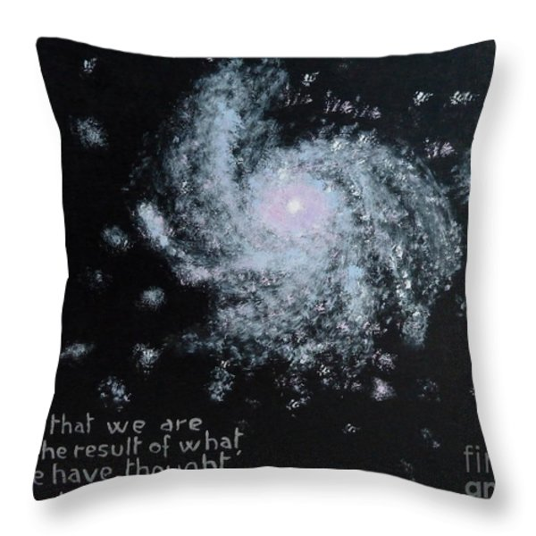 Power of Thought Throw Pillow by Piercarla Garusi