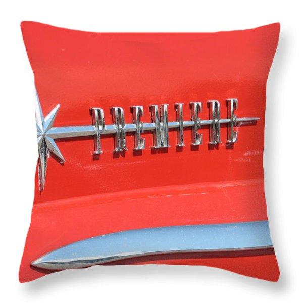 Premiere Throw Pillow by Kelly Mezzapelle