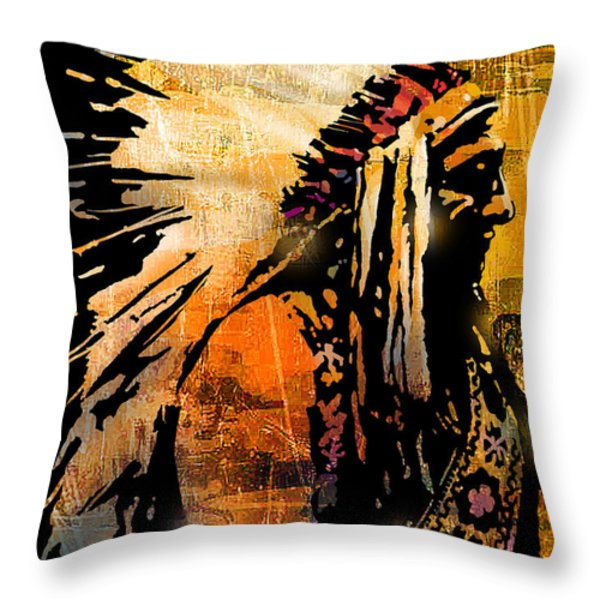 Profile Of Pride Throw Pillow by Paul Sachtleben