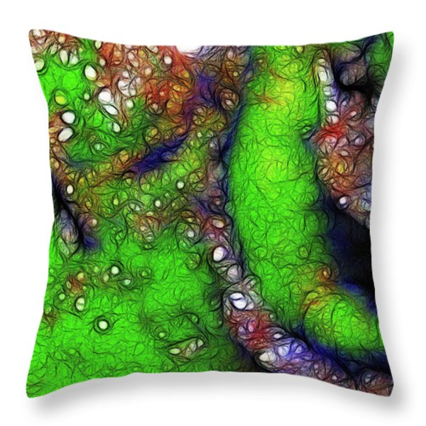 Progeny Throw Pillow by Wingsdomain Art and Photography