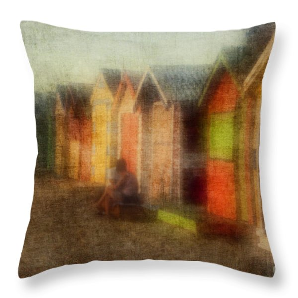 Protection Throw Pillow by Andrew Paranavitana