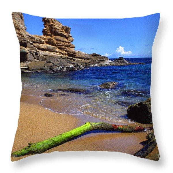 Puerto Rico Toro Point Throw Pillow by Thomas R Fletcher