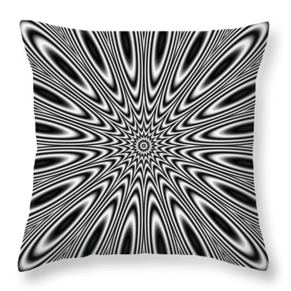 Pulsat Throw Pillow by Michal Boubin