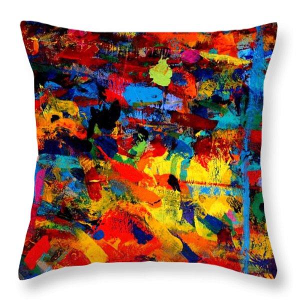 Quantum Leap Throw Pillow by John  Nolan