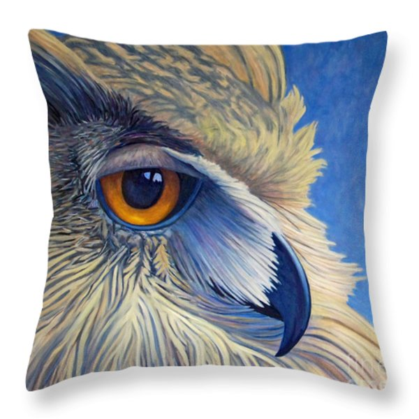Quiet Joy Throw Pillow by Brian  Commerford