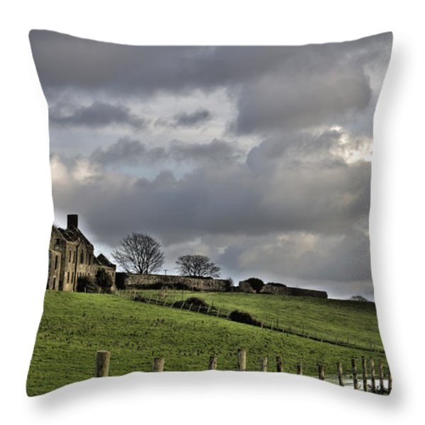 Rathfran House Throw Pillow by Marion Galt