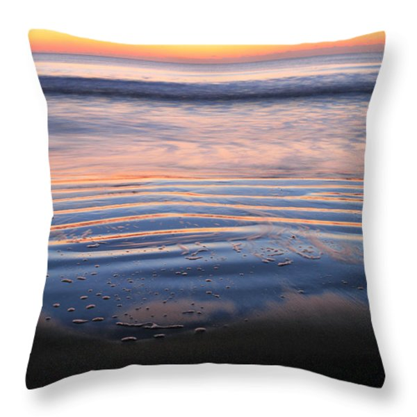 Receding  Throw Pillow by JC Findley
