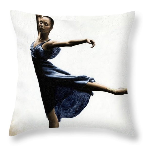 Refined Grace Throw Pillow by Richard Young