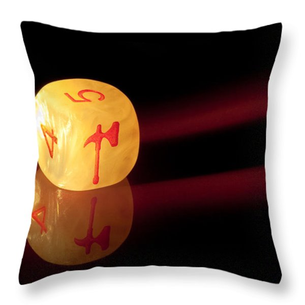 Reflections Throw Pillow by Marc Garrido