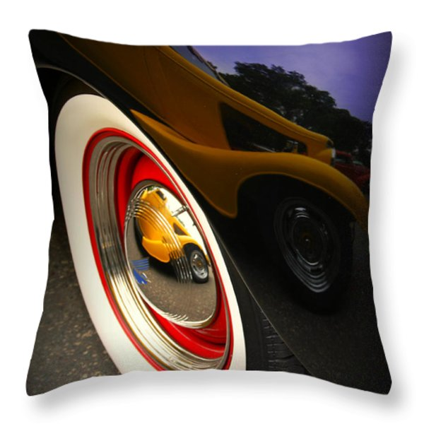Reflections Throw Pillow by Perry Webster
