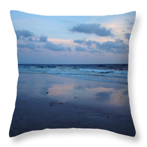 Reflections Throw Pillow by Sandy Keeton