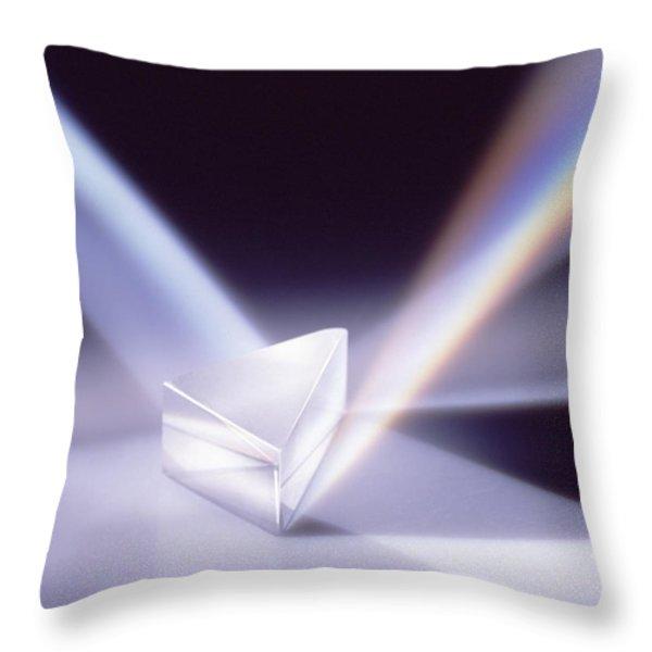 Refraction 2 Throw Pillow by Steven Huszar