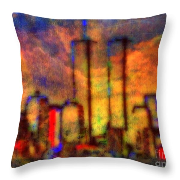 Remembrance Throw Pillow by WBK
