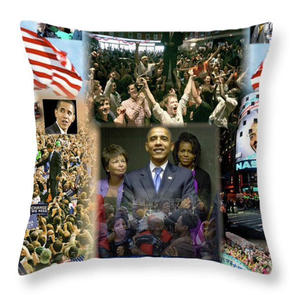 Respectfully Yours..... Mr. President Throw Pillow by Terry Wallace