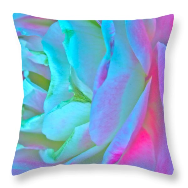 Restless Romantic Throw Pillow by Gwyn Newcombe