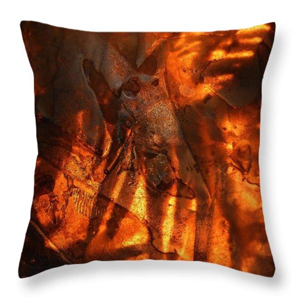 Revelation Throw Pillow by Sami Tiainen