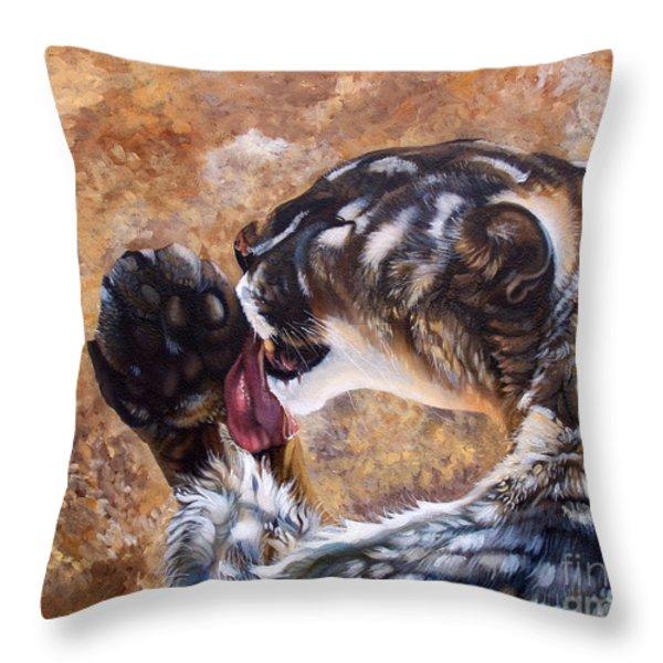 Reverie Throw Pillow by J W Baker