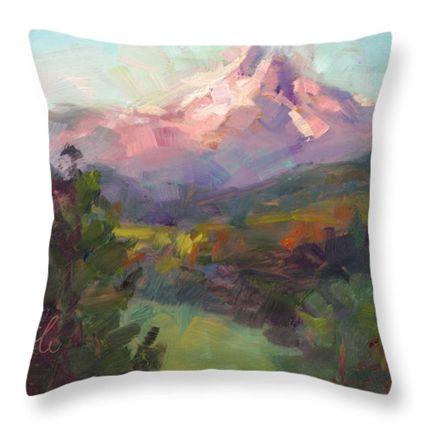 Rise And Shine Throw Pillow by Talya Johnson