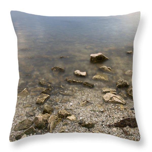 River Volga2 Throw Pillow by Svetlana Sewell