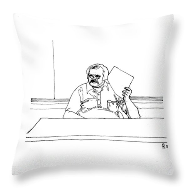 Room For Improvement Or Game Strategy Throw Pillow by Sheri Parris