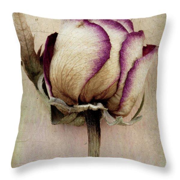 Rose 2 Throw Pillow by Marion Galt