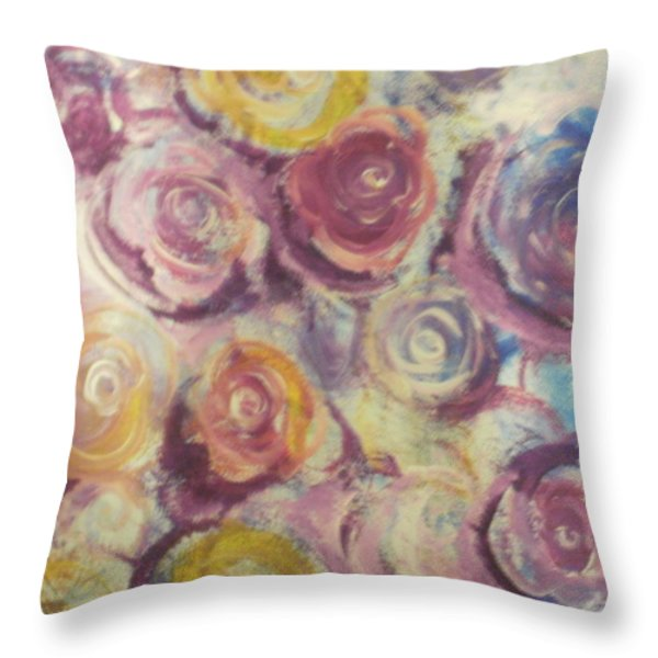 Rosie Throw Pillow by Jennifer Henson