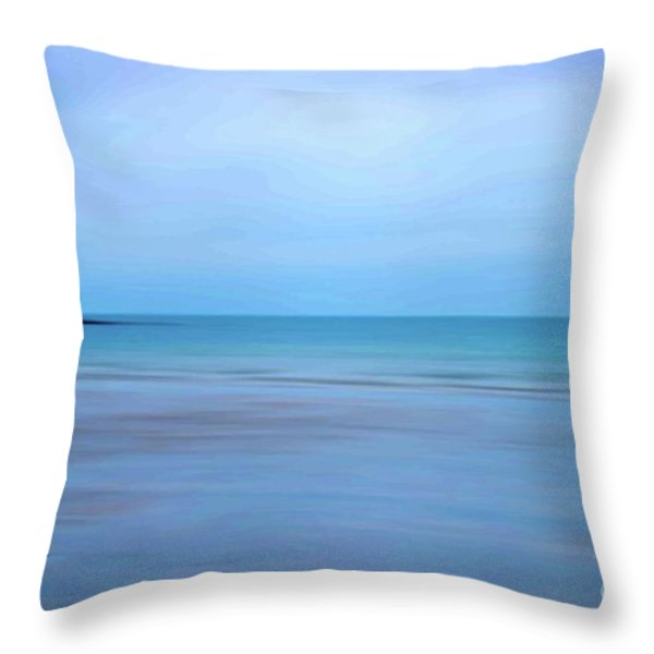 Ross Strand Throw Pillow by Marion Galt
