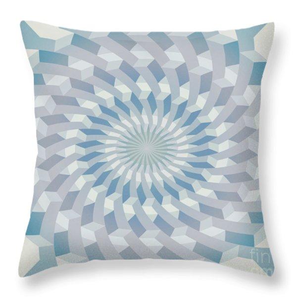 Round Pattern 170.4 Throw Pillow by Igor Kislev