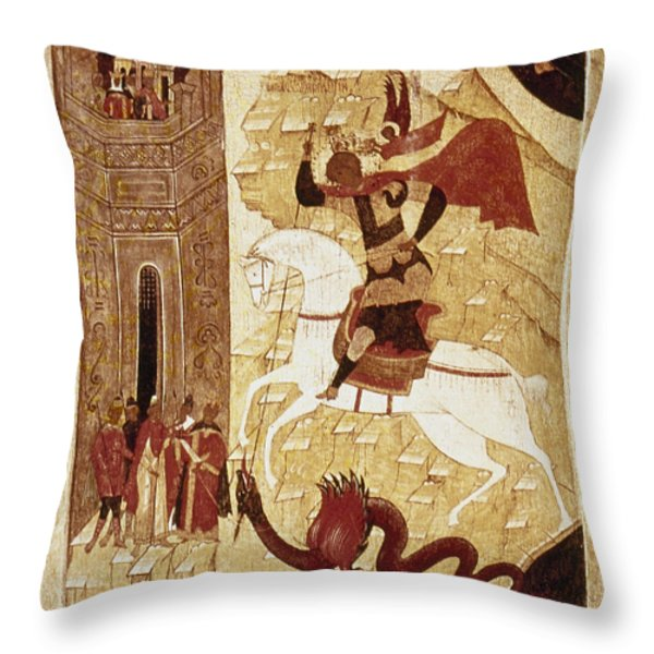 Russia: Icon Throw Pillow by Granger