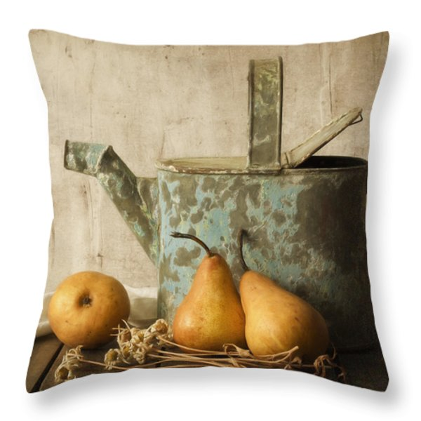Rustica Throw Pillow by Amy Weiss