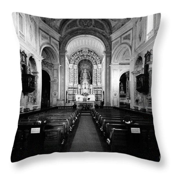 Saint Peter Church Throw Pillow by Gaspar Avila